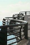 Damm in sonnigem Acapulco Stockfoto