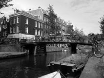 Damm in Utrecht Lizenzfreies Stockbild