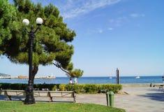 Damm von Jalta, Krim stockfotos