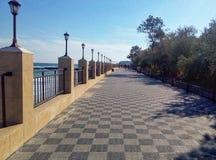 Damm von Odessa lizenzfreie stockfotografie