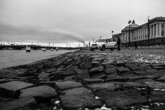 Damm von St Petersburg Lizenzfreies Stockfoto