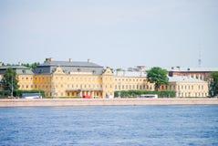 Damm von St Petersburg Stockfotos