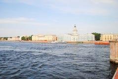 Damm von St Petersburg Stockfoto