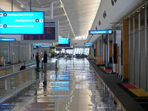 DAMMAM法赫德,沙特阿拉伯- DESEMBER 19国王日2008年:机场 免版税库存图片