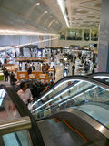 DAMMAM法赫德,沙特阿拉伯- DESEMBER 19国王日2008年:机场 库存图片