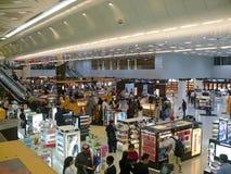 DAMMAM królewiątko FAHD, ARABIA SAUDYJSKA - DESEMBER 19, 2008: Lotnisko Obrazy Royalty Free
