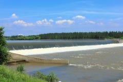 Dammbyggnad Arkivbilder
