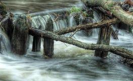 Dammbyggnad Arkivfoto