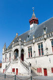 Damme city-hall in Belgium Royalty Free Stock Images