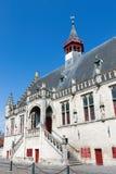 Damme urząd miasta w Belgia Obrazy Royalty Free