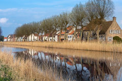 Damme village in Belgium Stock Photography