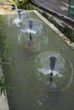 Dammstråle som svävar springbrunnen Royaltyfri Foto
