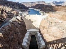 Dammsugarefördämning och sjömjöd från rutt 93 - Arizona, AZ Arkivbild