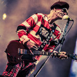 The Damned, Captain Sensible live in concert 2017. The Damned are an English rock band formed in London in 1976 by lead vocalist Dave Vanian, guitarist Brian royalty free stock images