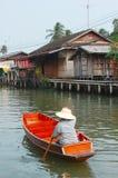 Damnoen saduak canal Stock Photos