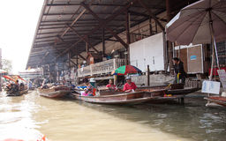 Damnoen Saduak Floating Marke, Thailand Royalty Free Stock Photos