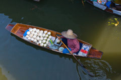 Damnoen Saduak floating market Royalty Free Stock Image