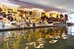 Damnoen Saduak Floating Market, Bangkok Royalty Free Stock Photos