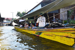 Damnoen Saduak Floating Market, Bangkok Stock Photography