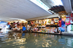 Damnoen Saduak Floating Market, Bangkok Royalty Free Stock Photo