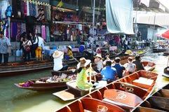 Damnoen Saduak Floating Market, Bangkok Royalty Free Stock Image