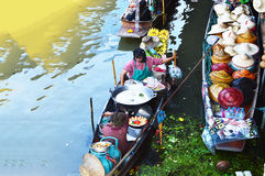 Damnoen Saduak Floating Market, Bangkok Stock Photo