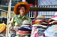 Damnoen Saduak Floating Market, Bangkok Stock Image