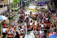 Damnoen Saduak floating market Stock Photography