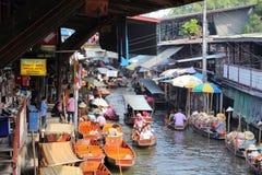 Damnoen Saduak Floating Market Royalty Free Stock Photos