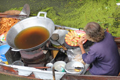 Damnoen Saduak Floating Market royalty free stock images