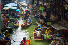 Damnoen Saduak floating market Royalty Free Stock Photography