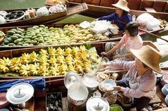 Damnoen Saduak Floating Market, Thailand Stock Photography