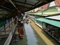 DAMNOEN SADUAK floating market, THAILAND Stock Image