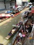 DAMNOEN SADUAK floating market, THAILAND Stock Images