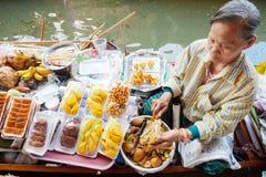 Damnoen Saduak Floating Market Royalty Free Stock Photo