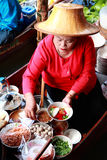 Damnoen Saduak floating market Royalty Free Stock Image