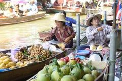 Damnoen Saduak Floating Market Stock Image