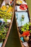 Damnoen Saduak Market, Thailand. Stock Photography