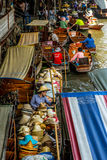 Damnoen Saduak Market, Thailand Royalty Free Stock Photo