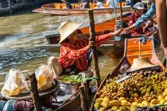 Damnoen Saduak Market, Thailand Stock Images