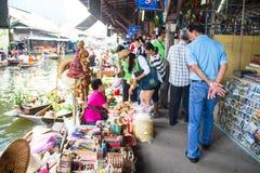 Damnoen Saduak, provincia di Ratchaburi, Tailandia. Fotografia Stock