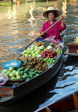 Damnoen Saduak, Thailand: Floating Market Stock Images