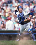 Damon Berryhill de los Chicago Cubs fotos de archivo