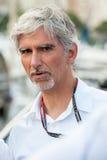 Damon Hill mästare för värld F1 Royaltyfria Bilder