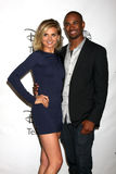 Damon Wayans Jr, Eliza Coupe Stock Image
