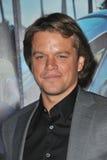 Damon Weintraub, Matt Damon Zdjęcie Stock