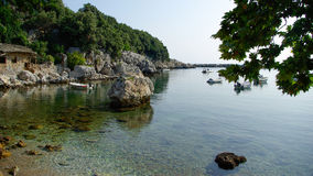 Damouchari, Pelion, Greece. Greek scenic fishing village at Damouchari of Pelion in Greece Stock Photography
