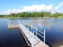 Damp, Lithuania. Deguciai town Damp, Silute region, Lithuania Stock Image