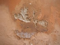 Damp moisture on wall Stock Image