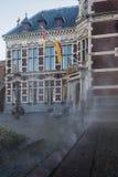 Dampf, der heraus die Straße kommt Lizenzfreies Stockbild